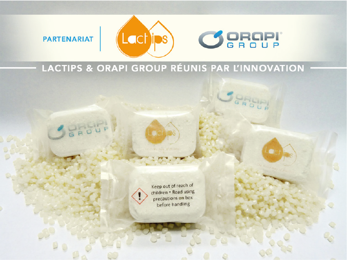ORAPI GROUP et LACTIPS réunis par l'innovation !